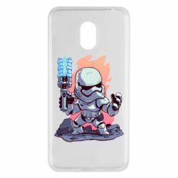 Чохол для Meizu M6 Stormtrooper chibi - FatLine