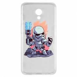 Чохол для Meizu M6s Stormtrooper chibi - FatLine