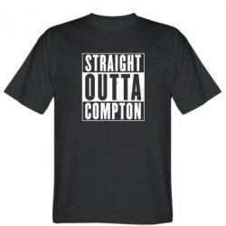 Мужская футболка Straight outta compton - FatLine