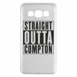 Чехол для Samsung A3 2015 Straight outta compton - FatLine