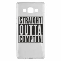Чехол для Samsung A5 2015 Straight outta compton - FatLine