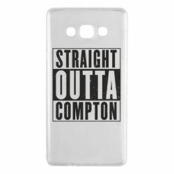 Чехол для Samsung A7 2015 Straight outta compton - FatLine