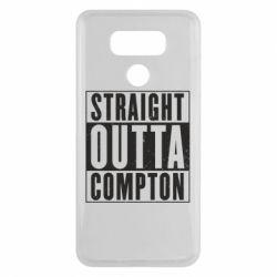 Чехол для LG G6 Straight outta compton - FatLine