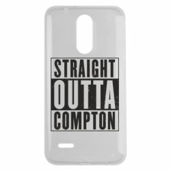 Чехол для LG K7 2017 Straight outta compton - FatLine
