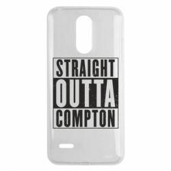 Чехол для LG K8 2017 Straight outta compton - FatLine