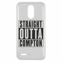 Чехол для LG K10 2017 Straight outta compton - FatLine
