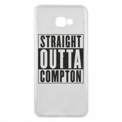 Чехол для Samsung J4 Plus 2018 Straight outta compton - FatLine