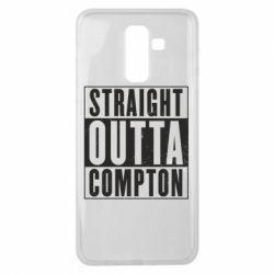Чехол для Samsung J8 2018 Straight outta compton - FatLine