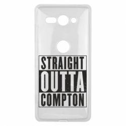 Чехол для Sony Xperia XZ2 Compact Straight outta compton - FatLine