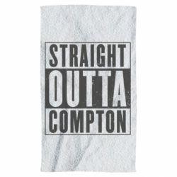 Полотенце Straight outta compton - FatLine