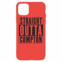 Чехол для iPhone 11 Pro Max Straight outta compton - FatLine