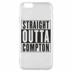 Чехол для iPhone 6/6S Straight outta compton - FatLine