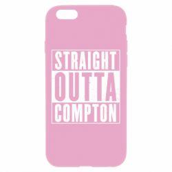 Чехол для iPhone 6 Plus/6S Plus Straight outta compton - FatLine