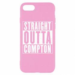 Чехол для iPhone 7 Straight outta compton - FatLine
