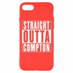 Чехол для iPhone 8 Straight outta compton - FatLine