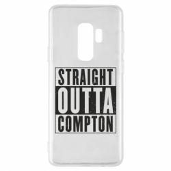 Чехол для Samsung S9+ Straight outta compton - FatLine