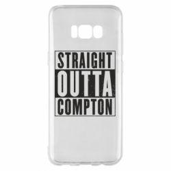 Чехол для Samsung S8+ Straight outta compton - FatLine