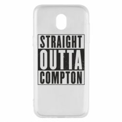 Чехол для Samsung J5 2017 Straight outta compton - FatLine
