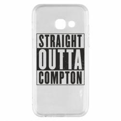 Чехол для Samsung A3 2017 Straight outta compton - FatLine