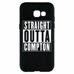 Чехол для Samsung A5 2017 Straight outta compton - FatLine