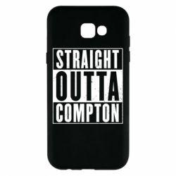 Чехол для Samsung A7 2017 Straight outta compton - FatLine