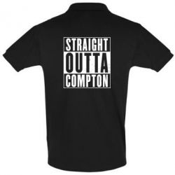 Футболка Поло Straight outta compton - FatLine