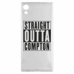 Чехол для Sony Xperia XA1 Straight outta compton - FatLine