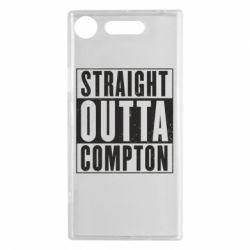 Чехол для Sony Xperia XZ1 Straight outta compton - FatLine