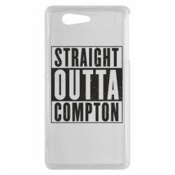 Чехол для Sony Xperia Z3 mini Straight outta compton - FatLine
