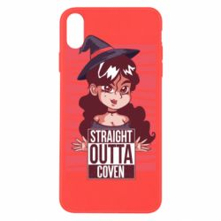 Чехол для iPhone X/Xs Straight outta coven