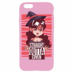 Чехол для iPhone 6/6S Straight outta coven