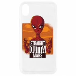 Чехол для iPhone XR Straight Outta Mars