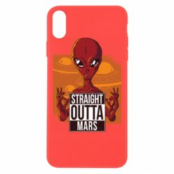 Чехол для iPhone Xs Max Straight Outta Mars