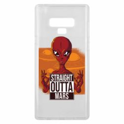 Чехол для Samsung Note 9 Straight Outta Mars