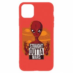 Чехол для iPhone 11 Straight Outta Mars