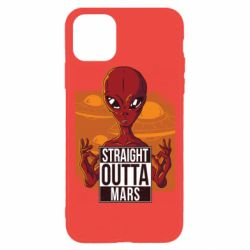 Чехол для iPhone 11 Pro Straight Outta Mars