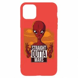 Чехол для iPhone 11 Pro Max Straight Outta Mars
