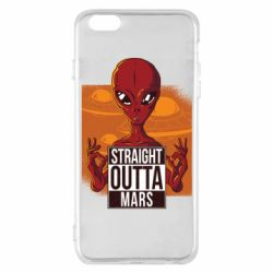 Чехол для iPhone 6 Plus/6S Plus Straight Outta Mars