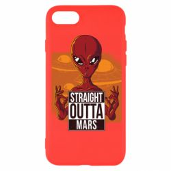 Чехол для iPhone 7 Straight Outta Mars