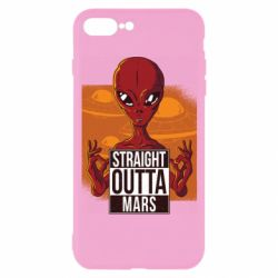 Чехол для iPhone 7 Plus Straight Outta Mars