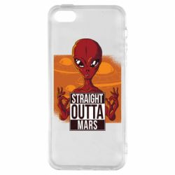 Чехол для iPhone5/5S/SE Straight Outta Mars