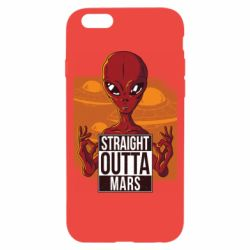 Чехол для iPhone 6/6S Straight Outta Mars