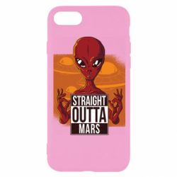 Чехол для iPhone 8 Straight Outta Mars