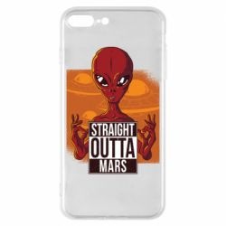 Чехол для iPhone 8 Plus Straight Outta Mars