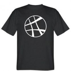 Мужская футболка Strange Logo