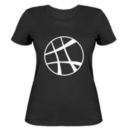 Женская футболка Strange Logo