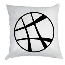 Подушка Strange Logo
