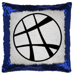 Подушка-хамелеон Strange Logo