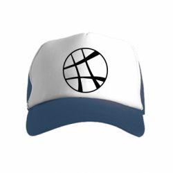 Детская кепка-тракер Strange Logo