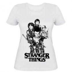 Жіноча футболка Stranger things